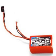 <b>Аккумулятор nVision nVision Li</b>-<b>Po</b> 7.4V (2s) 2500mAh JR Plug Soft ...
