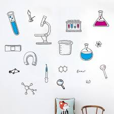 science wall decal at affordable