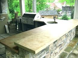 sealing a concrete countertop best concrete sealer outdoor concrete outdoor kitchen concrete best outdoor concrete sealer