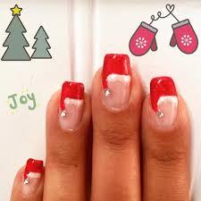 Christmas Hat Nail Design Pin By Rebecca Elliott On Nail Art Santa Hat Nails