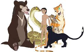 main cast of the jungle book by patchi1995