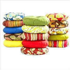 E Round Bistro Chair Cushion Cushions Inch Chairs Home  Decorating Outdoor Square Set