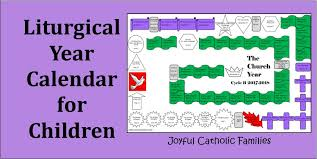 This is a catholic ordo (liturgical calendar) for the 2021 liturgical year for the holy sacrifice of the mass in the extraordinary form according to the missale romanum (1962) of pope st. Liturgical Year Calendar For Children