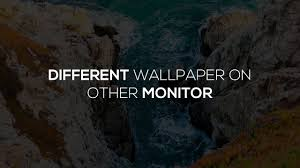 dual monitor backgrounds windows 10