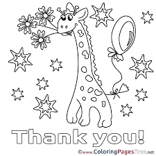 Thank You Coloring Page Coloring Thank You Coloring Pages With Thank