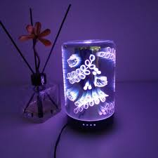 Glass That Changes Color In Light 3d Glass Visual Effects Aroma Diffuser With Change Color Led Light Aromatherapy Diffuser Buy 3d Glass Visual Effects Oil Humidifier Changable Led