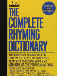 The Complete Rhyming Dictionary Includes Cover Metre Poetry.