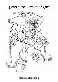 Small Picture Exodia the forbidden one coloring pages Hellokidscom