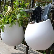 white ceramic wall planter ceramic flower pots planters decorative vases wall hanging vase ceramic white ceramic wall planter