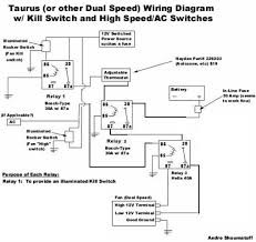 taurus fan wiring deadhorse i can t tell what wires do what though i can usually pick out a hot side and replicate a schematic real world wires components
