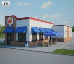 burger king restaurant. Delighful Burger Burger King Restaurant 01 3D Model For L