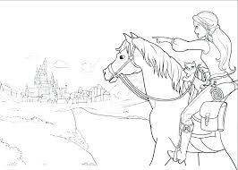 Horse And Rider Coloring Pages Horseback Rider Drawing Horse