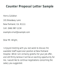 Sample Letter Negotiating Salary In A Job Offer Job Offer Negotiation Letter Counter Proposal New Negotiating Salary