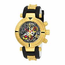 invicta men s watches for jewelry watches jcpenney invicta unisex black strap watch 22737