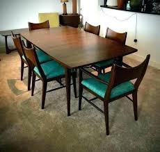 mid century modern round dining tables blueseagtcom mid century round dining table and chairs mid century
