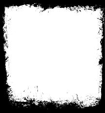 9 Square Grunge Frame PNG Transparent Vol3 OnlyGFXcom