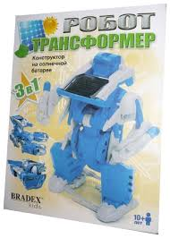 Электромеханический <b>конструктор BRADEX</b> DE0176 <b>Робот</b> ...