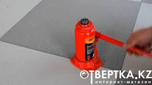 <b>Домкрат гидравлический бутылочный</b>, 8 т, h подъема 200-385 мм ...