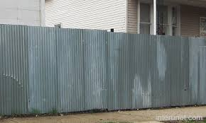 Perfect Sheet Metal Fence Corrugated Privacy To Design Inspiration