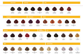 Alfaparf Yellow Hair Color Chart Alfaparf Yellow Color