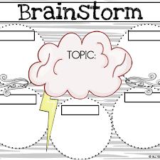 Brainstorm Template Word Brainstorm Template Barca Fontanacountryinn Com