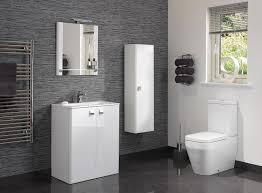 gloss gloss modular bathroom. interesting gloss modulartreviglosswhitewithfloormountedbasin with gloss modular bathroom