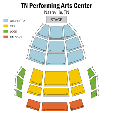 Tpac Andrew Jackson Seating Chart Tn Performing Arts Center Andrew Jackson Hall Tickets Tn