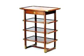 table top display shelves side with medium size of four narrow drawer wood shelf table top display shelves upright case front view wood shelf