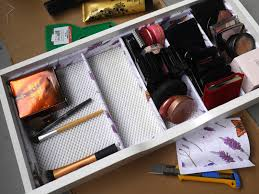 DIY Makeup Storage Drawer Dividers