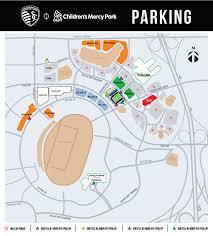 Kansas City Raceway Seating Chart Childrens Mercy Park Parking Sporting Kansas City