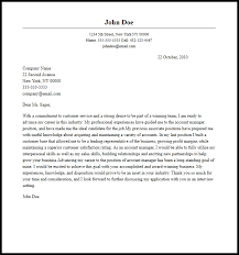 Technical Manager Cover Letter Professional Account Manager Cover Letter Sample Writing Guide