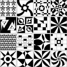 creative art afternoon grid tile designs art tile t33 art