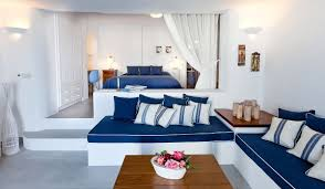 Main Bedroom Villas In Santorini With Private Pool Family Accommodation In