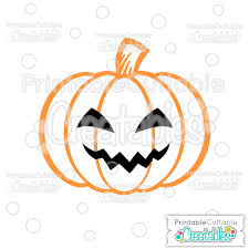 Free spooky halloween word vector download in ai, svg, eps and cdr. Scary Jack O Lantern Halloween Pumpkin Free Svg Cutting File Clipart For Silhouette Cricut Machines
