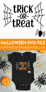 Easily convert to svg vector files with one click. Trick Or Treat Halloween Svg File Happiness Is Homemade