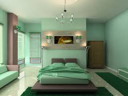 Mint Green Colored Bedrooms