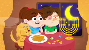 Small Picture Light the Candles Bright Hanukkah Song for Kids Chanukah Song