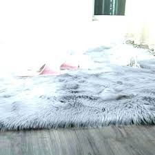faux fluffy rugs ikea grey gy fur area rug handmade sheepskin mint house of