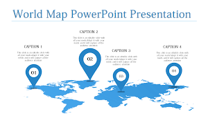 World Map Presentation Templates Powerpoint Ppt Free