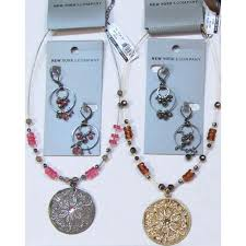 4 new york pany necklaces earrings whole jewelry lot clearance