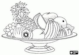 Small Picture Fruit Basket Coloring Pages Coloring Coloring Coloring Pages