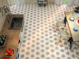 Tiling Kitchen Floor Bathroom Hexagonal Tile Kitchen Floor Hexagon Ape