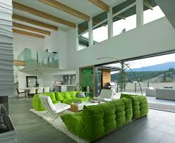 View in gallery this living room in green and white is so uplifting 1 thumb  630xauto 54628 This Living