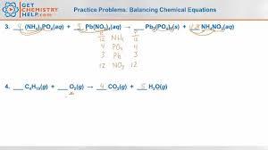 worksheet on balancing chemical equations pdf worksheet