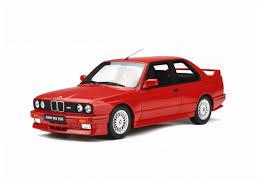 Sport Series bmw e30 m3 : 1:18 Otto BMW E30 M3 street model car - OT695 red @ Modelly.shop