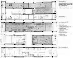 Unite Dhabitation Le Corbusier Sections Le Corbusier