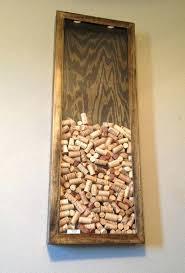 wine cork wall display ebony by on bottle mounted rack holder