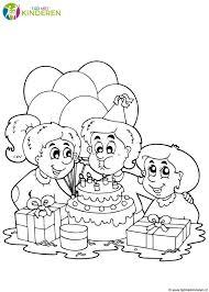 Kleurplaten Oma 80 Jaar Eenvoudig Kleurplaat Mama Jarig Werkbladen