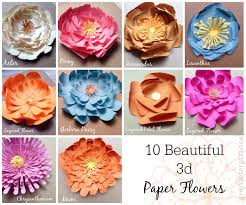 on large 3d flower wall art with paper flowers wall art