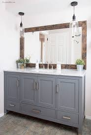 Framing A Large Mirror Best 25 Mirror Border Ideas On Pinterest Tile Around Mirror